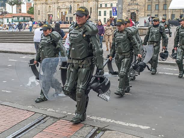 Protests in Colombia Continue